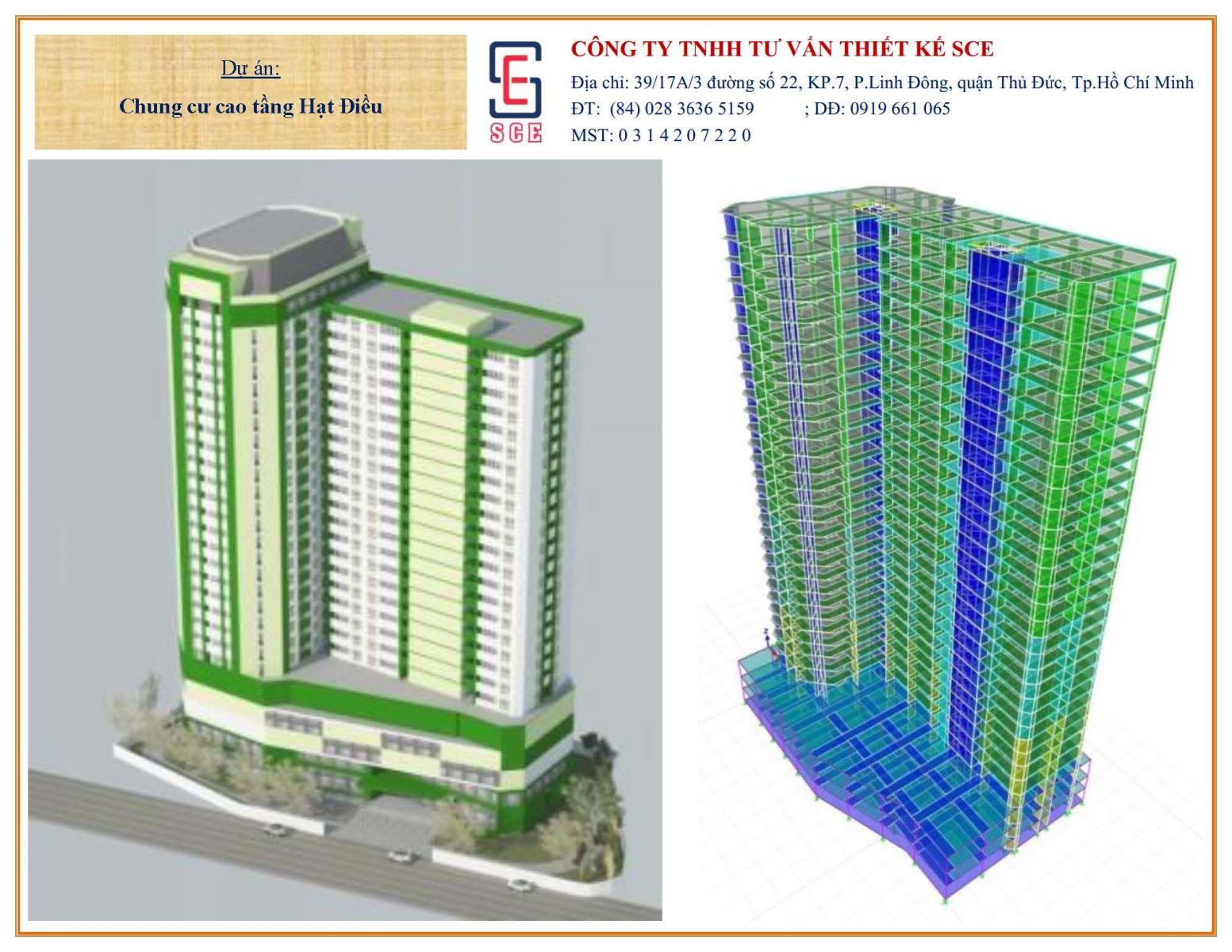 Hight-Rise Apartment Building Hat Dieu