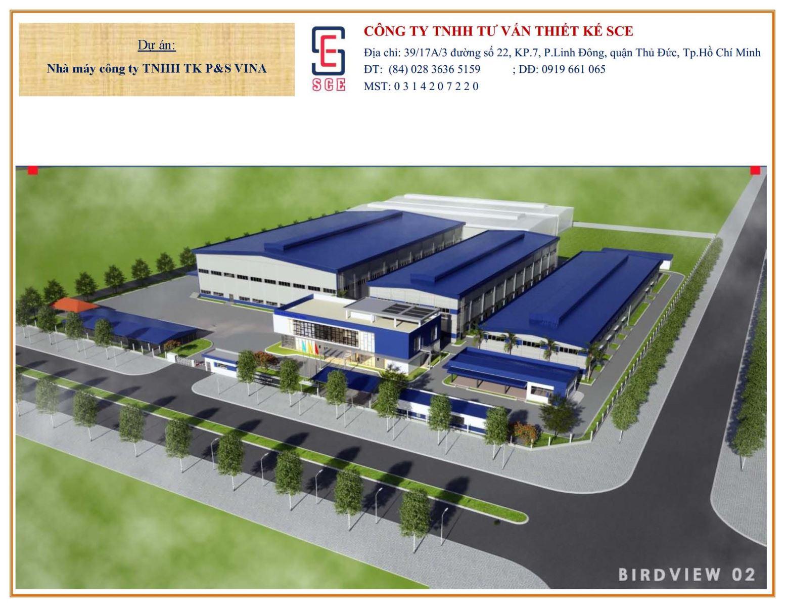 Factory of P & S VINA